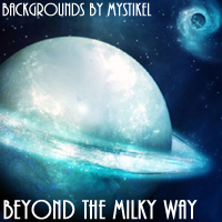 Beyond the Milky Way 3D Models 2D mystikel