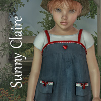 SunnyClaire Outfit 3D Figure Essentials SWAM