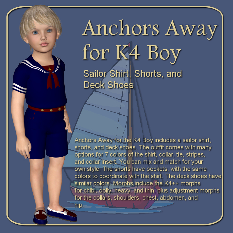 Anchors Away for K4 Boy