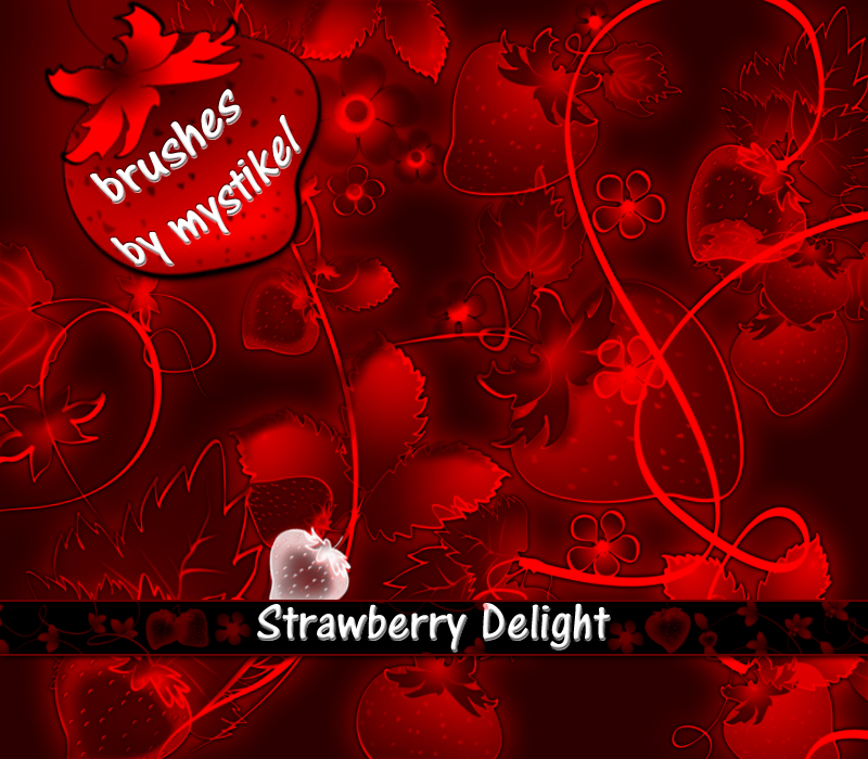 Strawberry Delight Brushes