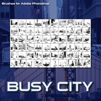Busy City 2D And/Or Merchant Resources Atenais