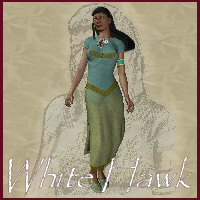 White Hawk 3D Models 3D Figure Essentials chasfh