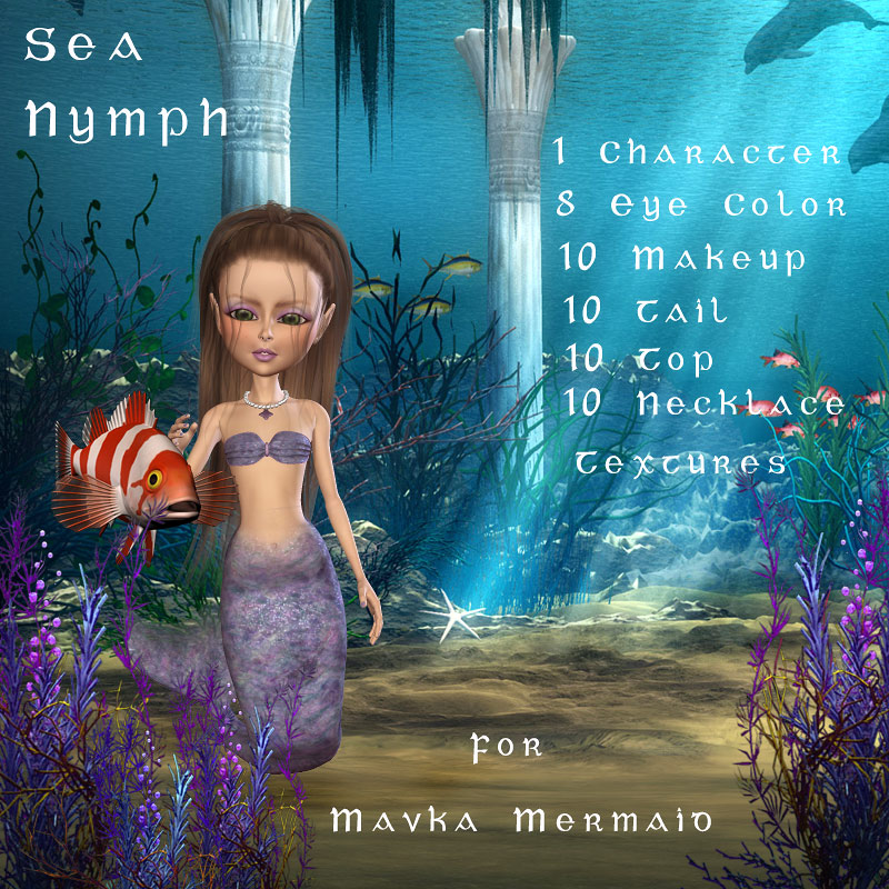 Mavka Sea Nymph