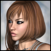 Cadrian Hair 3D Figure Essentials Propschick
