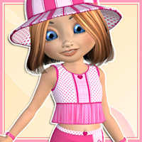 Kiki - Summer Fashion 3D Models 3D Figure Essentials karanta