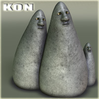 Kon Stand Alone Figures Nursoda