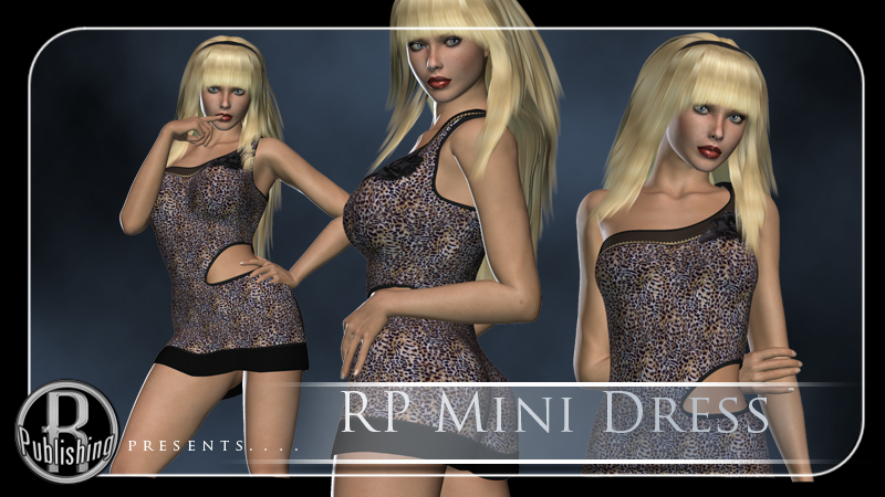 RP Mini Dress V4,A4,G4