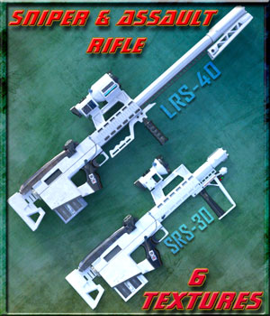 RS-Serie Sniper Rifle 3D Models mtlegacy