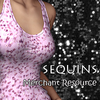 FS Sequins Merchant Resource Themed 2D And/Or Merchant Resources FrozenStar