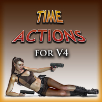 Time Action 3D Figure Assets 3D Models Slide3D