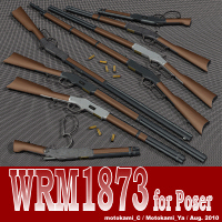 WRM1873 for Poser 3D Models motokamishii