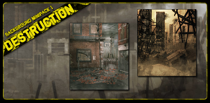 Background Mini-Pack 01: Destruction