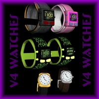 V4 Watch Set 3D Models cougar999