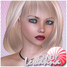 Candy Lewanna 3D Figure Essentials Sveva