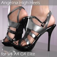 Angelina High Heels V4_A4_G4_Elite 3D Figure Essentials Arrin
