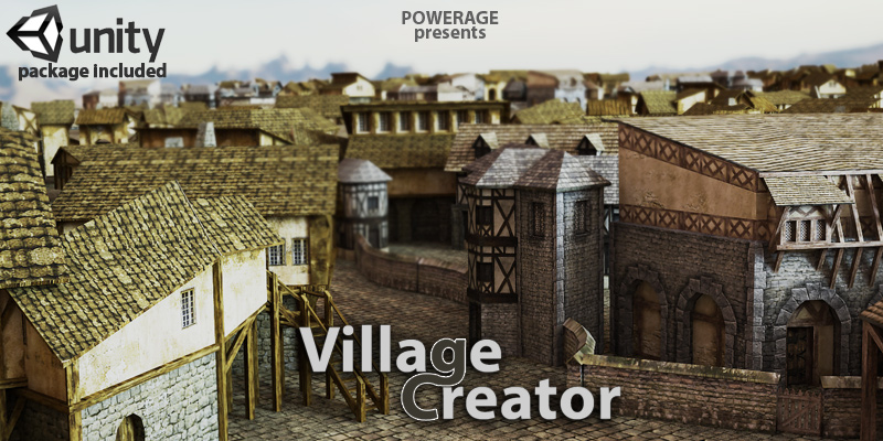 Village Creator for Poser & Unity3D
