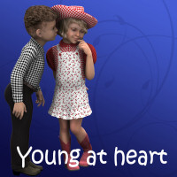 Young at Heart Shader Presets for Daz Studio 3D Figure Essentials Khory_D