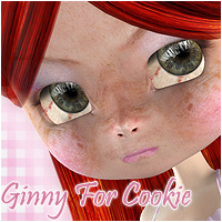 Ginny For Cookie 3D Models 3D Figure Essentials ForbiddenWhispers