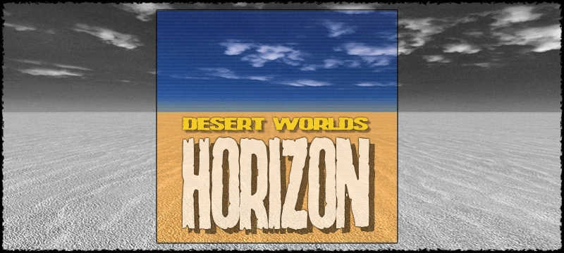 Desert Worlds: Horizon by hameleon