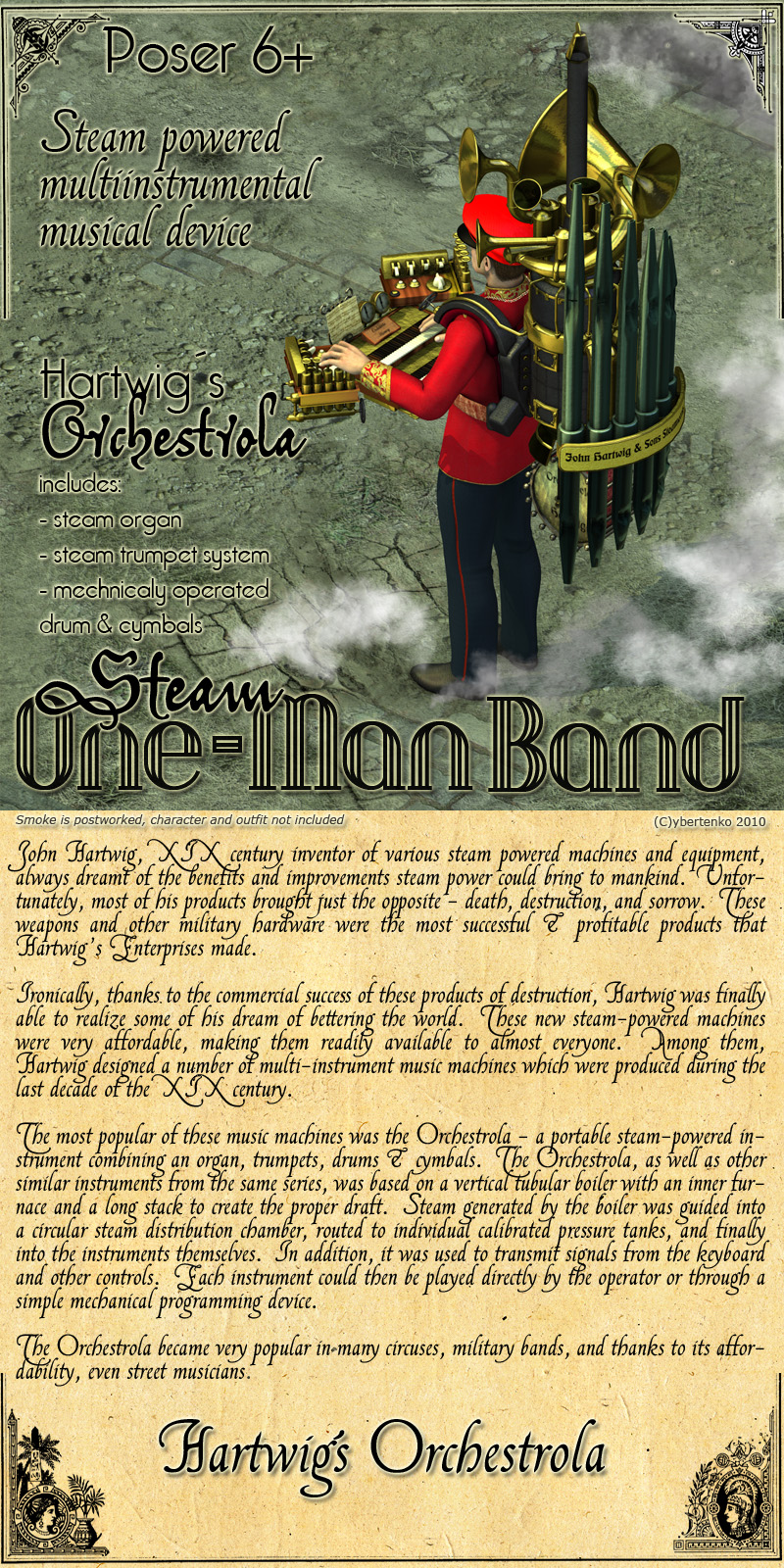 Steam One-Man Band