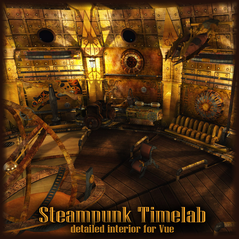 Steampunk Timelab (for Vue)