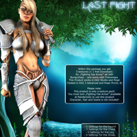 Last Fight for Fighting Fae Armor image 1