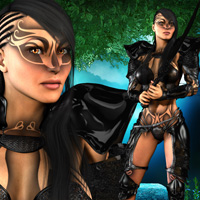 Last Fight for Fighting Fae Armor image 2