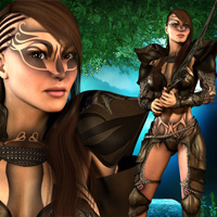 Last Fight for Fighting Fae Armor image 3