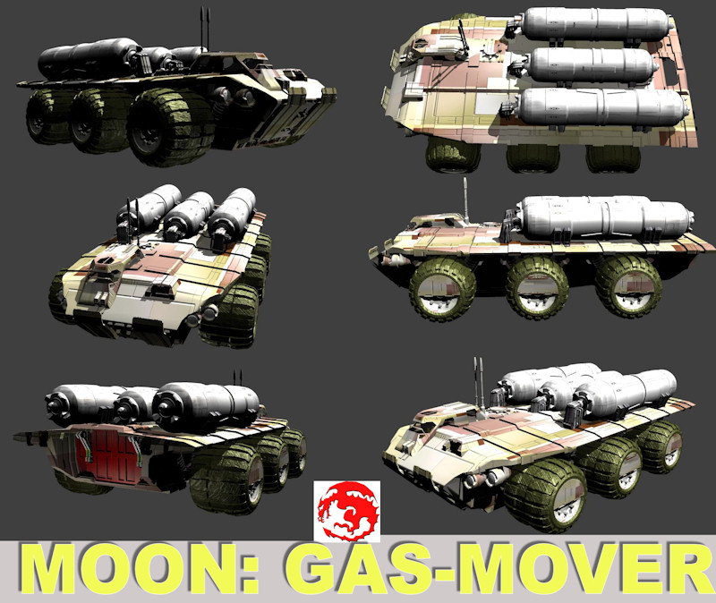 MOON GAS MOVER