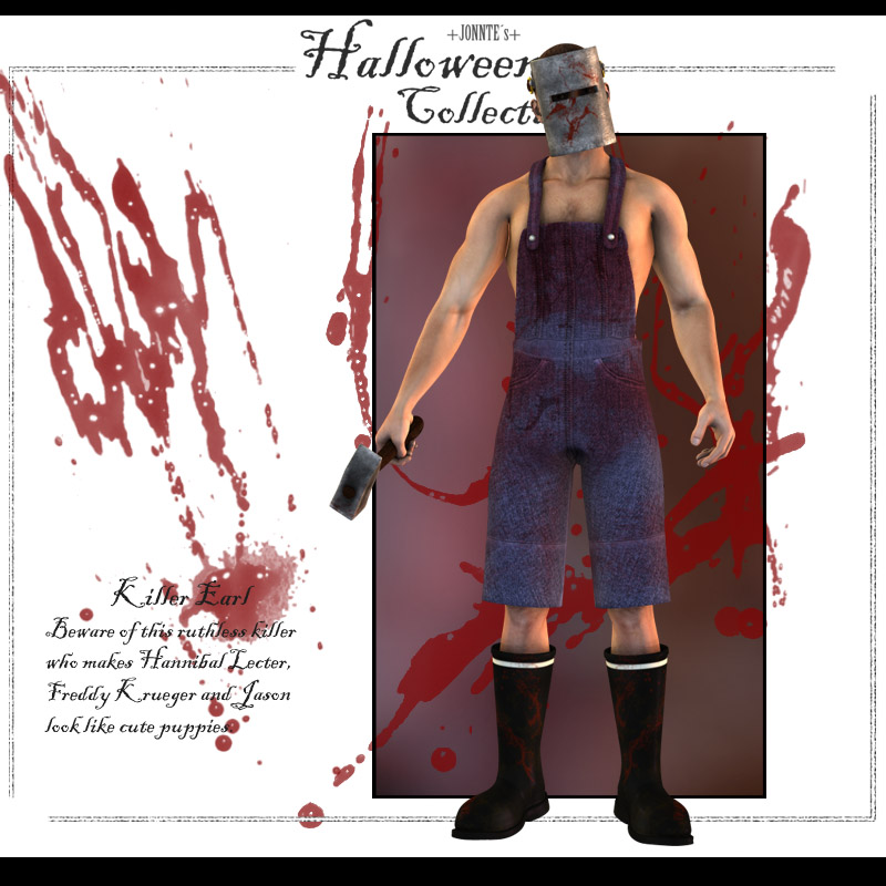 Halloween collection: Killer Earl