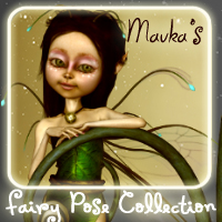 Mavka's Fairy Pose Collection Themed Stand Alone Figures Poses/Expressions ironman13