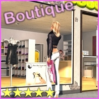 Boutique/Shop by 3-D-C Poses/Expressions Props/Scenes/Architecture 3-d-c