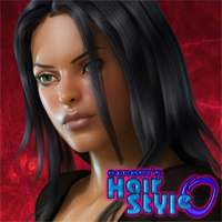Exnem's Hair Style0 for V4 3D Figure Assets exnem