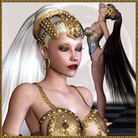 Hot Liason Fantasy Hair V4.2,A4,G4,Sp4 by lululee