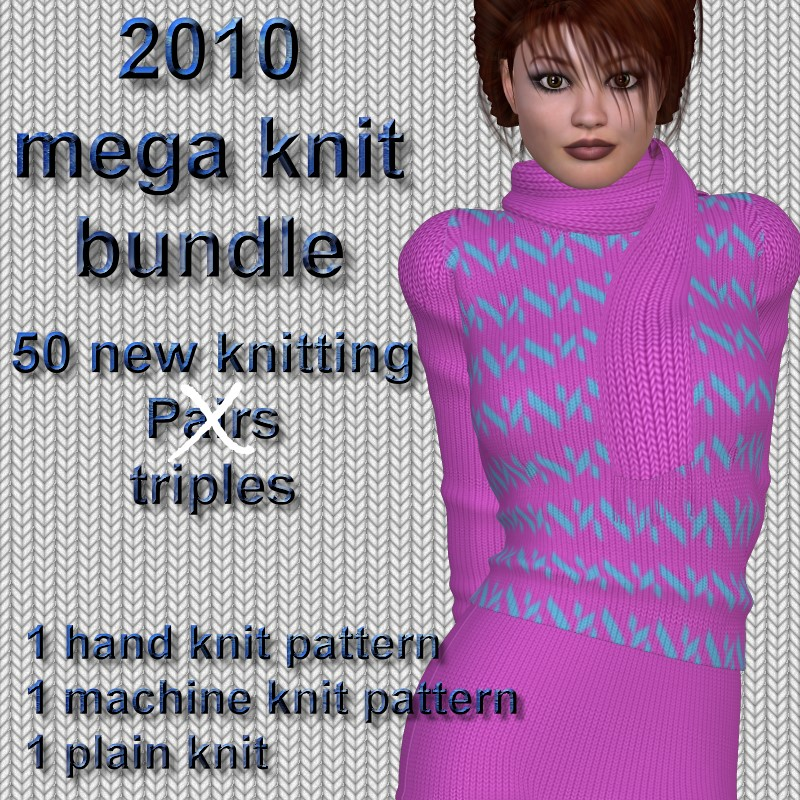 2010 mega knits bundle - a vendor resource