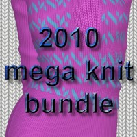 2010 mega knits bundle - a vendor resource 2D chrislenn