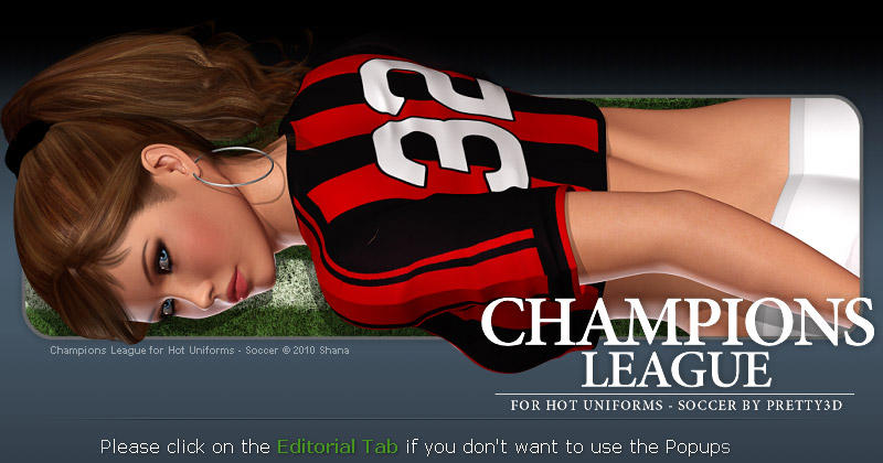 Champions League for Hot Uniforms Soccer