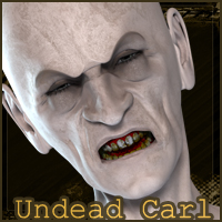 UnDead Carl 3D Models 3D Figure Essentials posermagic