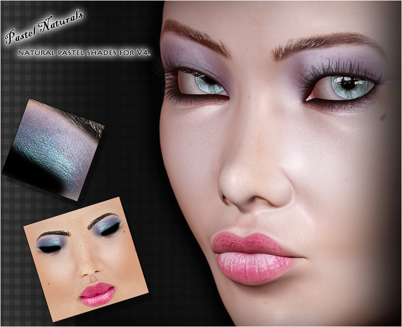 Pastel Naturals : V4 Make-up Resource