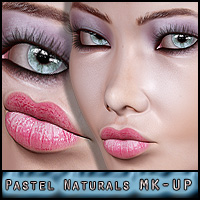 Pastel Naturals : V4 Make-up Resource 2D ForbiddenWhispers