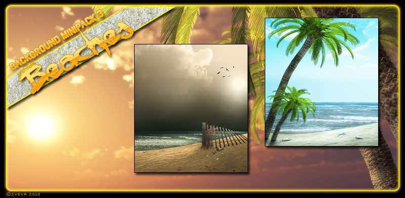 Background Mini-Pack 03: Beaches