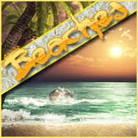 Background Mini-Pack 03: Beaches Themed 2D And/Or Merchant Resources Sveva