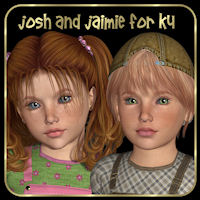 Josh and Jaimie for K4 Characters Clothing WildDesigns