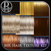 Merchant Resource Hair Texture Kit 2D And/Or Merchant Resources RPublishing