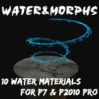 Water!Water!Water! Vol.1 3D Models 2D Graphics yblues