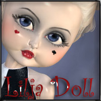 Lilja Doll 3D Figure Essentials 3D Models FantastArt