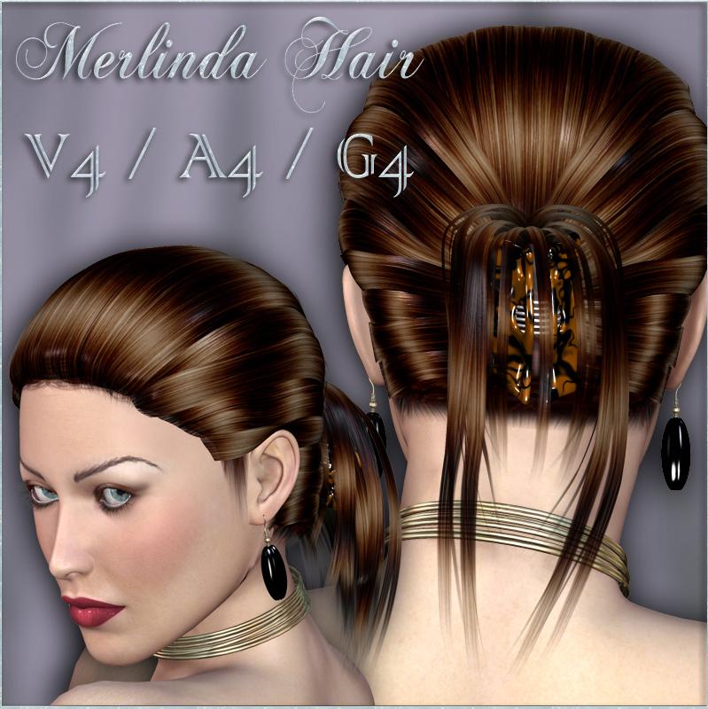 Merlinda Hair For V4 A4 G4