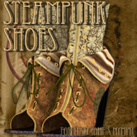 Steampunk Shoes Clothing Themed Tipol