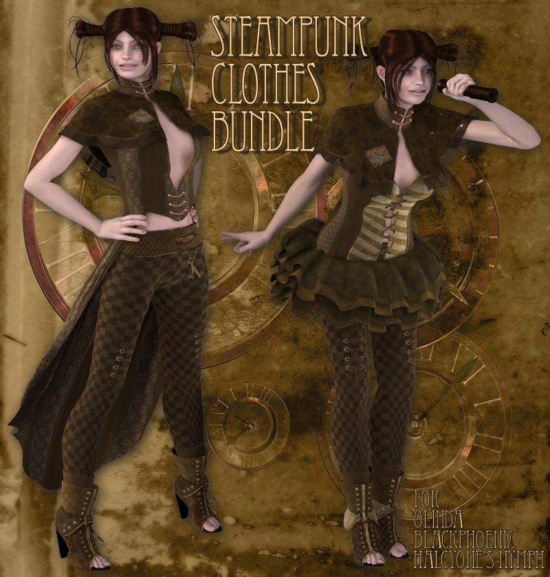 Steampunk Clothes Bundle