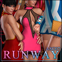 ASC 07: Runway 3D Figure Essentials 3D Models ShanasSoulmate